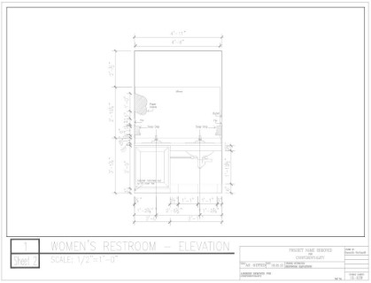 AutoCAD Elevation