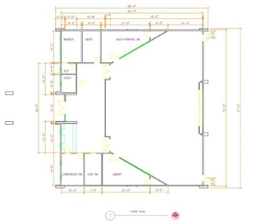 AutoCAD As-Built Drawing